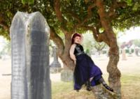 Nancy Amenti is a Vancouver fashion designer and goth who loves cemeteries. 'They're gorgeous,' she says. 'They're a great place to have a picnic.'