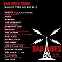Bad Vibes set list